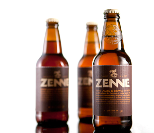 Zenne Beer Label Designed By Clara Tan innovative techniques
